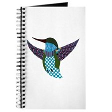 Blue hummingbird Journal