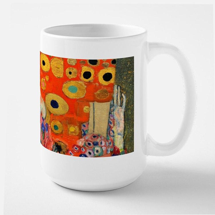 Klimt - Hope II Large Mug