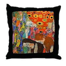 Klimt - Hope II Throw Pillow