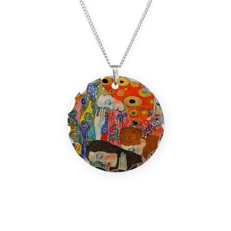 Klimt - Hope II Necklace Circle Charm