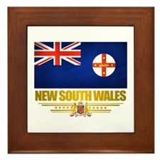 """New South Wales Pride"" Framed Tile"