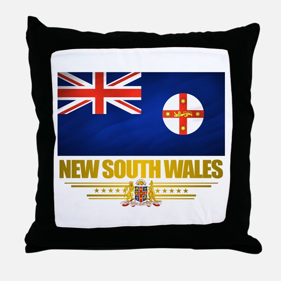 """New South Wales Pride"" Throw Pillow"