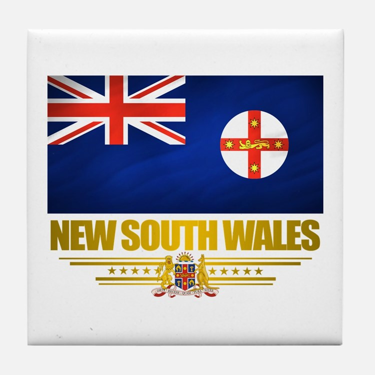 """New South Wales Pride"" Tile Coaster"
