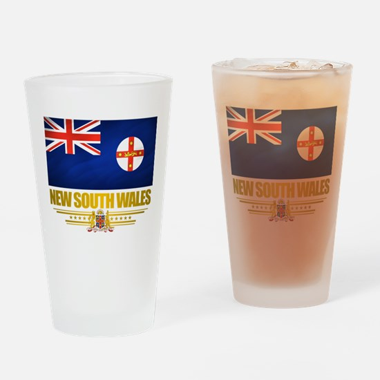 """New South Wales Pride"" Drinking Glass"