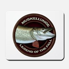 Fall Muskie Fishing Mousepad