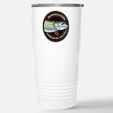 Fall Muskie Fishing Travel Mug