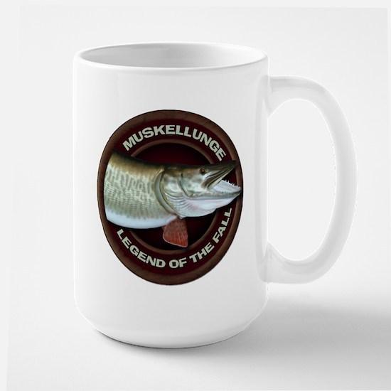 Large Fall Muskie Fishing Mug