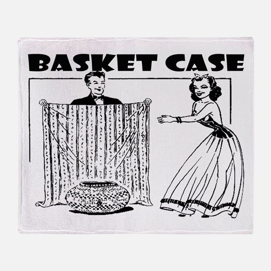 Basket Case Throw Blanket