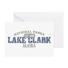 Lake Clark National Park AK Greeting Card