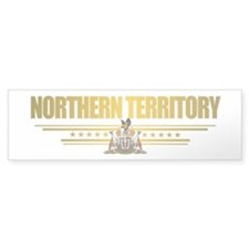 """Northern Territory Flag"" Bumper Sticker"