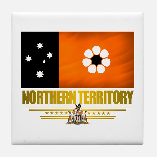"""Northern Territory Flag"" Tile Coaster"
