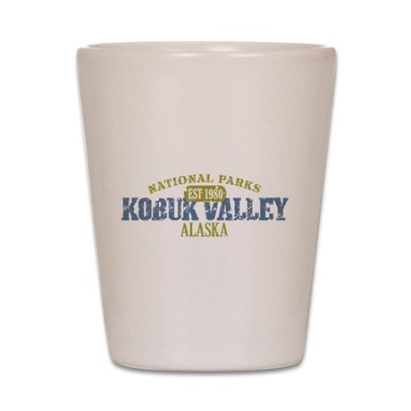 Kobuk Valley National Park AK Shot Glass