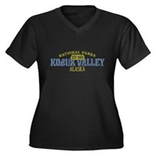 Kobuk Valley National Park AK Women's Plus Size V-
