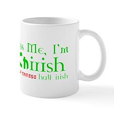 Kiss Me, I'm Chirish (Chinese/Irish) Hapa Mug
