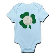 Irish Volleyball Shamrock Infant Bodysuit
