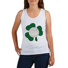 Irish Volleyball Shamrock Women's Tank Top