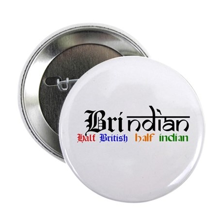 "BrIndian (British/Indian) Hapa 2.25"" Button"