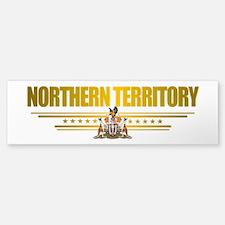 """""""Northern Territory COA"""" Bumper Bumper Sticker"""