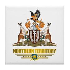 """Northern Territory COA"" Tile Coaster"