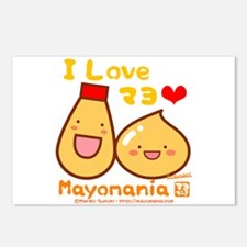Mayo love Postcards (Package of 8)