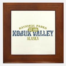 Kobuk Valley National Park AK Framed Tile