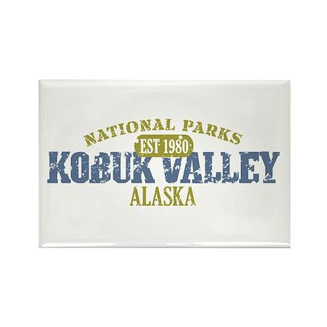Kobuk Valley National Park AK Rectangle Magnet (10