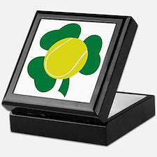 Irish Tennis Shamrock Keepsake Box