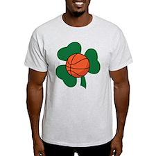 Irish Basketball Shamrock T-Shirt