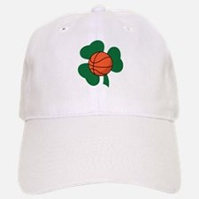 Irish Basketball Shamrock Baseball Baseball Cap