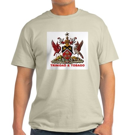 Trinidad Coat of Arms Ash Grey T-Shirt