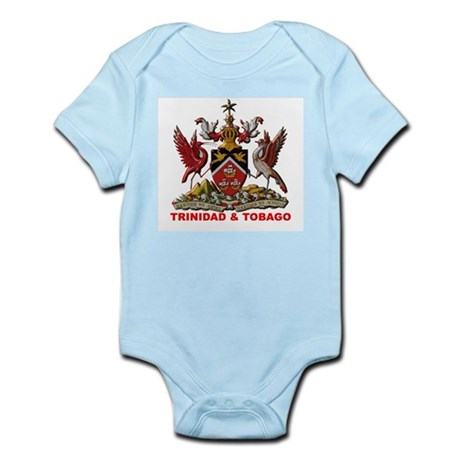 Trinidad Coat of Arms Infant Creeper