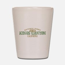 Kings Canyon National Park CA Shot Glass