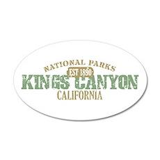 Kings Canyon National Park CA 22x14 Oval Wall Peel