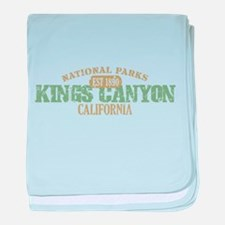 Kings Canyon National Park CA baby blanket