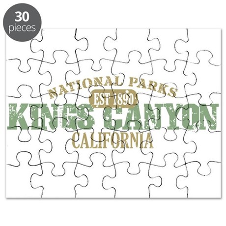 Kings Canyon National Park CA Puzzle