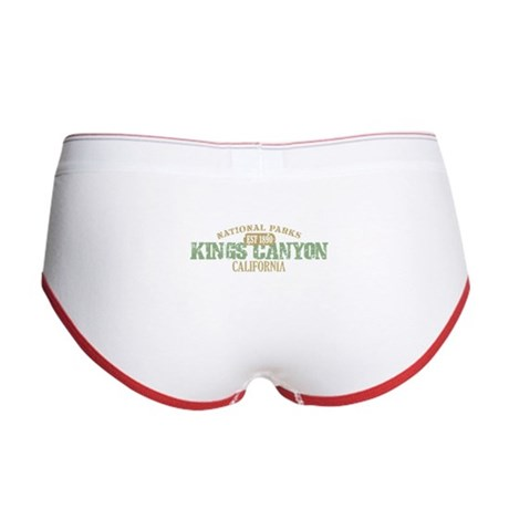 Kings Canyon National Park CA Women's Boy Brief