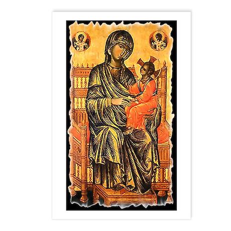 Byzantine Madonna Postcards (Package of 8)