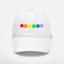 Rainbow Luau Baseball Baseball Cap