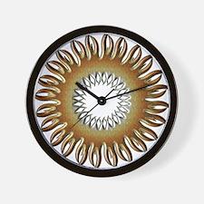 Bear Pride Tribal Sun Wall Clock