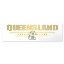 """Queensland COA"" Car Sticker"