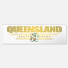 """Queensland COA"" Sticker (Bumper)"