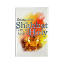 Shabbat Day: Rectangle Magnet