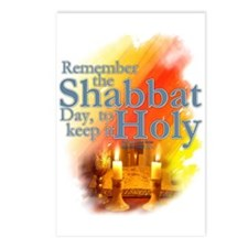 Shabbat Day: Postcards (Package of 8)