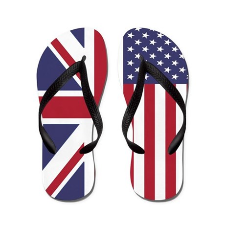 Brit in the USA Flip Flops