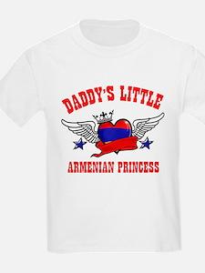 Daddy's Little Armenian Princess T-Shirt