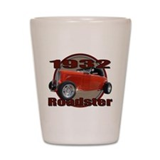 1932 Red Ford Roadster Shot Glass