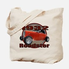 1932 Red Ford Roadster Tote Bag