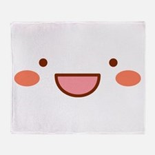 Mayopy face Throw Blanket