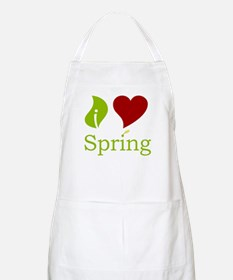 I Heart Spring (Red)  BBQ Apron