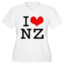 I Love NZ T-Shirt